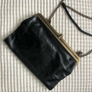 Hobo Lauren Clutch with Shoulder Chain.